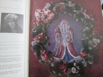 Christmas Cottage Painting Joys Painting Book-Stokes-Santas/Toy Shop/Cathedral B