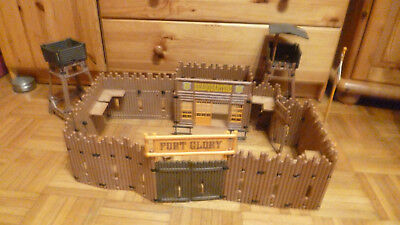 Playmobil * Western * Fort Glory * 3806  + Aussichtsturm *
