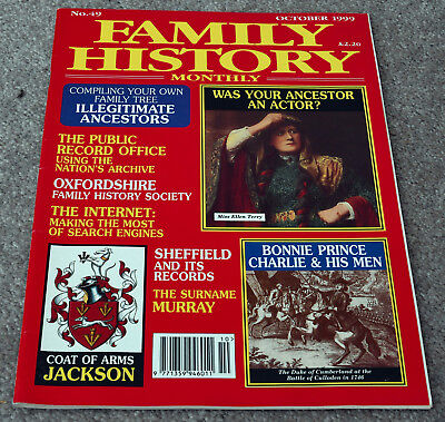 Family History Monthly – October 1999 – Jackson, Murray, Sheffield