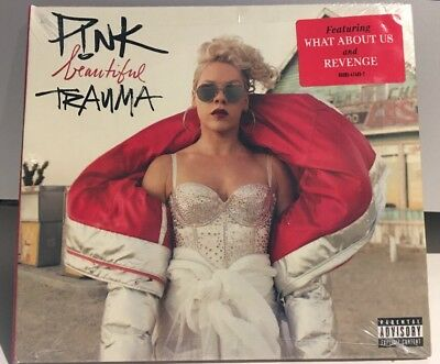 Beautiful Trauma by Pink (CD, Explicit) Brand New