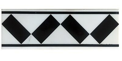 Classic Marble Border mosaic tiles for kitchen and bathroom $2.00 each