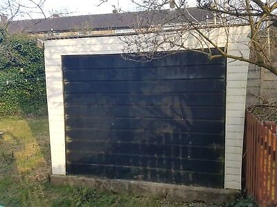 Concrete Sectional Garage In Very Good Condition