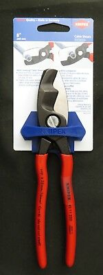 Knipex 95 11 200 SBA 8 Inch Dual Jaw Cable Shears Made In Germany New Fast Ship