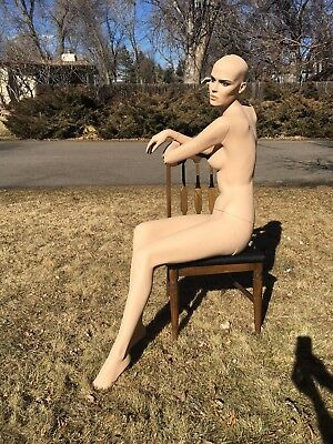 Rare Seated Rootstein Full Body Mannequin Dress Dummy