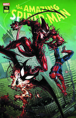 Amazing Spider-Man 796 Clayton Crain Connecting Variant First Red Goblin Appear!