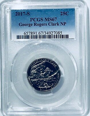 2017 S  PCGS MS67 George Rogers Clark NP 67! (Coin 1)