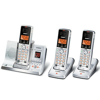 UNIDEN 5335+2 DIGITAL CORDLESS HOME OR OFFICE PHONE SYSTEM 5.8GHz ANS/MACHINE`