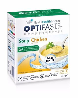Optifast Chicken Soup - 7 Sachets