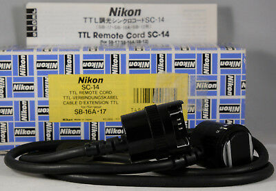 NIKON SC-14 TTL Cord, Instructions for F3