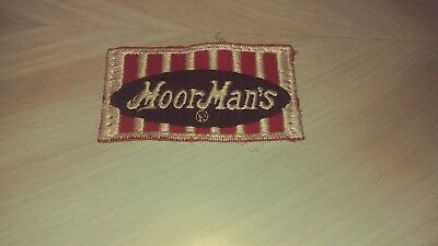 Vintage  Moorman's Feeds Vintage  Patch