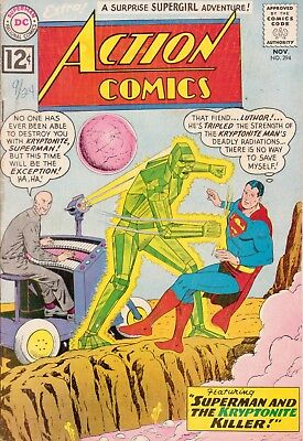Action Comics #294 (Nov 1962, DC)Very Good/ Supergirl/Luthor