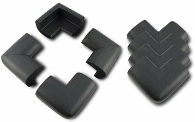 AKORD Baby Safety Corner Protectors For Desk Table, Black