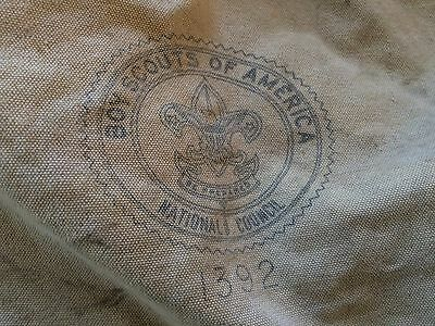 Boy Scouts of America BSA 1969 National Jamboree AAS 18 Canvas Bag Vintage Troop