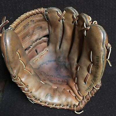 Mickey Mantle endorsed Rawlings Heart of the Hide XPG-6.