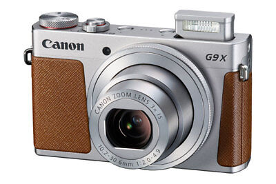 BRAND NEW Canon Powershot G9X Mark II Digital SILVER - 0924C001