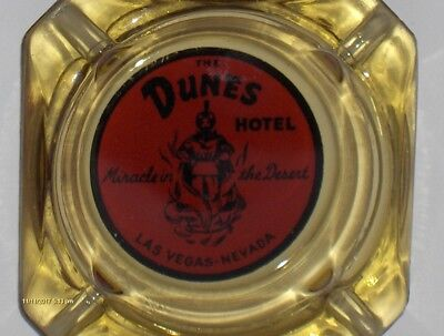 The Dunes Hotel Las Vegas Nevada Amber Adhtray.