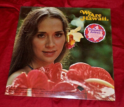 "Original Hawaiian Airlines Lp ""we Are Hawaii"" Very Rare * Brand New Still Sealed"