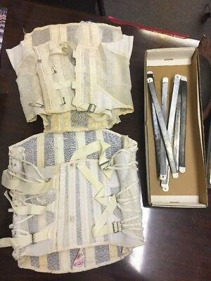 Vintage Truform Medical Corset Girdle Waist Type. Set Of 2, 1 Is Spencer