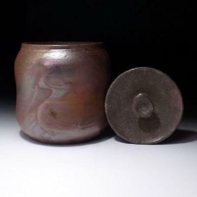 MG5 Japanese Tea ceremony Water Container, Mizusashi by Famous Inauemon Uena