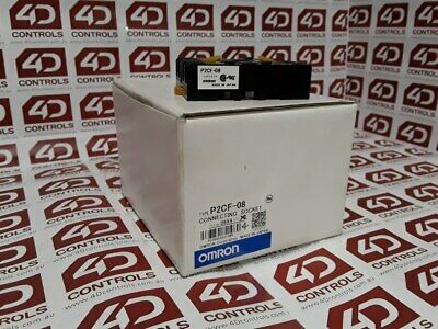 Omron P2CF-08 Relay Socket - New Surplus Open