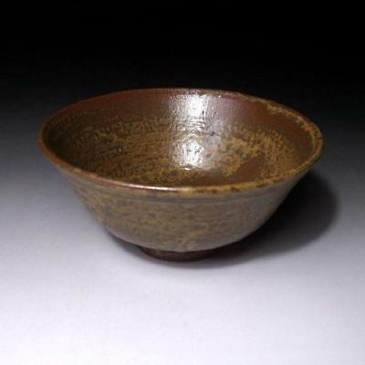 LC5: Vintage Japanese Pottery Tea Bowl of Tanba ware