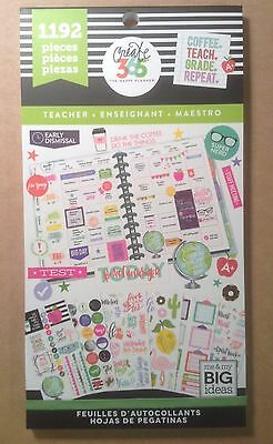 "me & my big ideas create 365 ""TEACHER"" Value Pack Stickers"