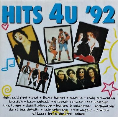 Hits 4U '92 - Various Compilation Oz Disctronics Cd - 1991 - Craig Mclachlan