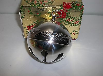 Wallace Silver Plated SLEIGH BELL 1977