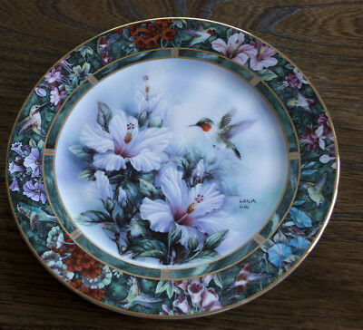 Collector Plate - The Ruby-throated Hummingbird