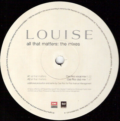 Louise / All That Matters