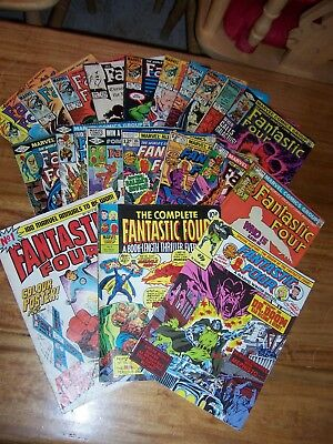 20 Fantastic Four Comics 1977 - 1986 Great Condition