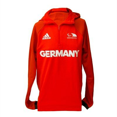 adidas Herren Trainings Shirt Con16 FLE TOP in rot Paralympics Rio 2016 Germany