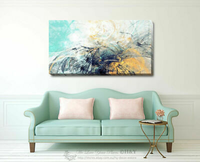 Abstract Pattern Stretched Canvas Print Framed Wall Art Home Office Shop Decor
