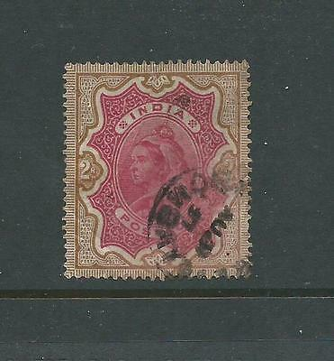 1895 Queen Victoria 2 Rupee Used sold as per scan