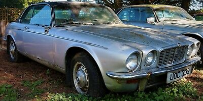 1978 Jaguar XJC 5.3 V-12 FI Coupe. Unused for 25 yrs. Full Restoration required,
