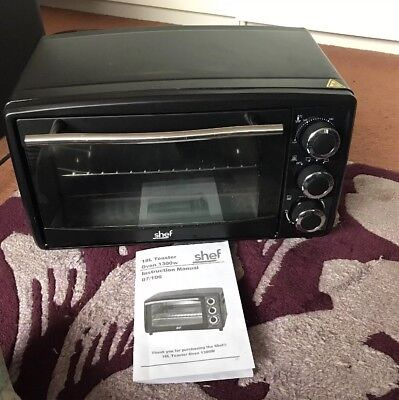 Shef 18l Toaster Oven 1300w
