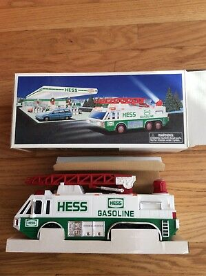Vintage 1996 Hess Truck With Crane, New