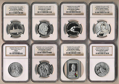 13 POLAND SILVER COINS ## NGC PROOFS 12 are ULTRA CAMEO ## AWESOME > NO RESERVE