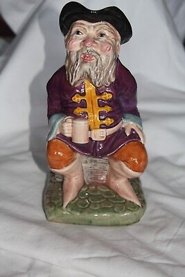 MELBA WARE Tale Teller Large Toby Jug - 8¼ Inches 22 CM