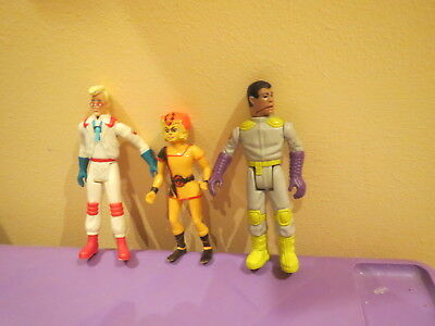Vintage Ghost busters Winston , Egon Thundercats Wolf Figures