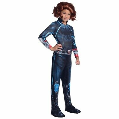 Black Widow Costume Girls Childs Avengers Natasha S 4 6 M