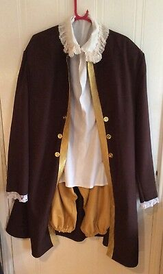 Quality Adult Tudor Costume for Stage  / Theatre - Re-Enactment Etc. Size Large