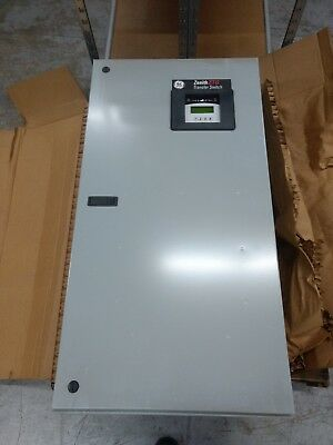 GE Zenith Automatic Transfer Switch 400A 120V ZTG000A00040E