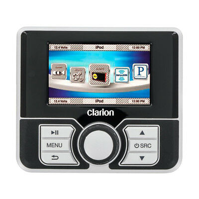 """Clarion MW4 Watertight Wired Remote w/2.8"""" Color Display Surface Mount MW4"""