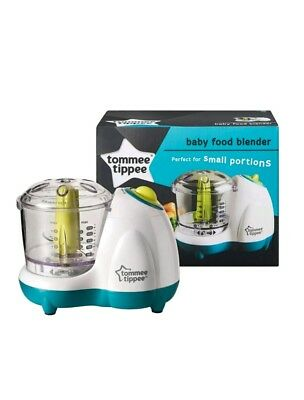 Tommee Tippee Explora BABY FOOD blender Processor Electric Baby Handy Brand New