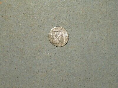 foreign coins #D3- 1764 free imperial city of nurnburg - 4 pfennig coin (silver)