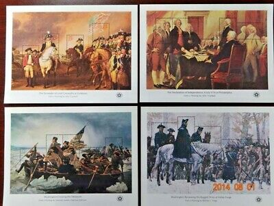 Scott #1686 American Bicentennial Mint Set of 4 Sheets  ( F. V. - $4.30 )