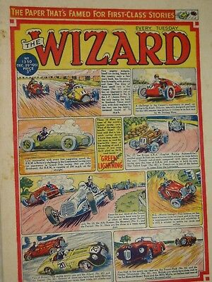 WIZARD   COMIC......VINTAGE ISSUE...29th December 1951......NEW YEAR ISSUE