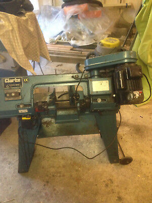 Clarke CBS45MD Metal Cutting Bandsaw