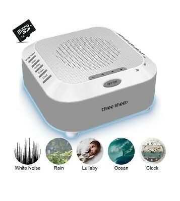 White Noise Machine, Sound Therapy Machine, Baby Sound Machine, with 5 Soothing